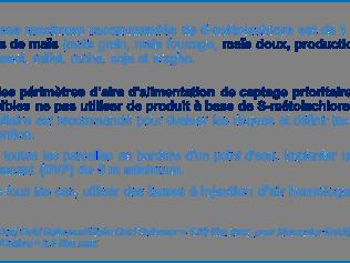 Lire la suite de S-Metolachlore : Nouvelles recommandations d'utilisation par Syngenta